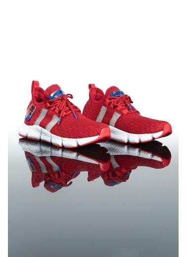Letoon Te7 Erkek Spor Ayakkabı Kırmızı